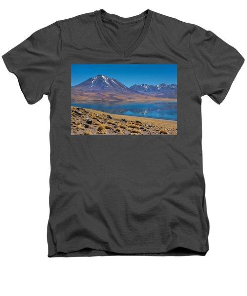 Laguna Miscanti Men's V-Neck T-Shirt