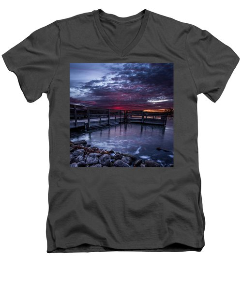 Lake Alvin Men's V-Neck T-Shirt