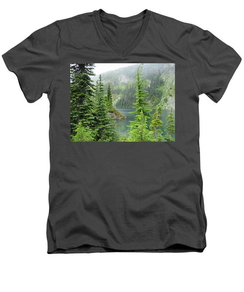 Lake Eunice II Men's V-Neck T-Shirt