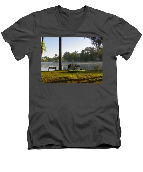 Lake Life Men's V-Neck T-Shirt
