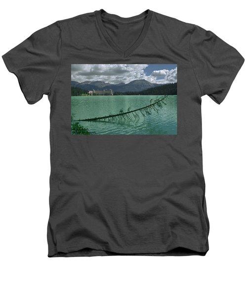 Lake Louise - 2 Men's V-Neck T-Shirt