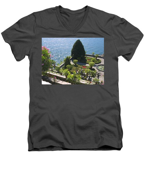 Lake Maggiore Magic Men's V-Neck T-Shirt