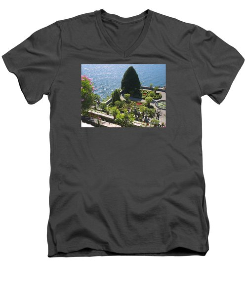 Lake Maggiore Magic Men's V-Neck T-Shirt