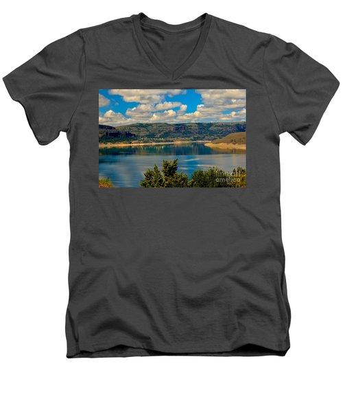 Lake Roosevelt Men's V-Neck T-Shirt