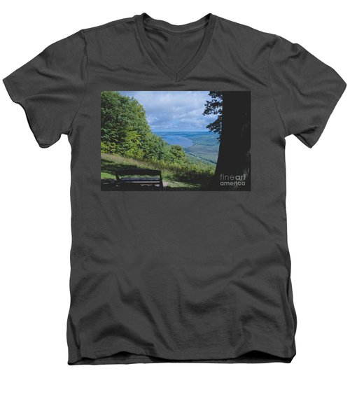 Lake Vista Men's V-Neck T-Shirt
