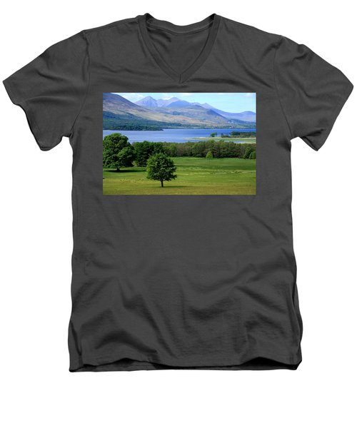 Lakes Of Killarney - Killarney National Park - Ireland Men's V-Neck T-Shirt