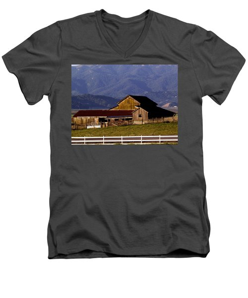 Lakeville Barn Men's V-Neck T-Shirt