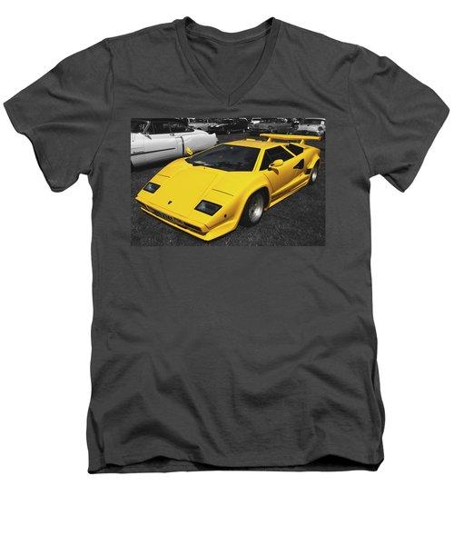 Lamborghini Countach Men's V-Neck T-Shirt