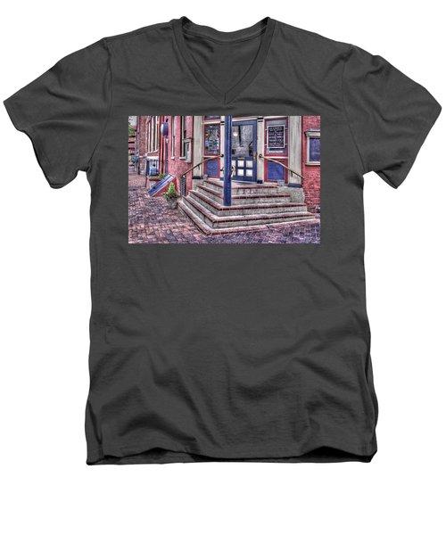 Men's V-Neck T-Shirt featuring the photograph Lancaster Pensylvania by Jim Thompson