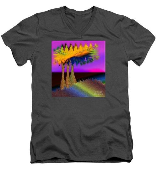 Land Escape Men's V-Neck T-Shirt