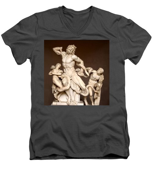 Laocoon And Sons Men's V-Neck T-Shirt