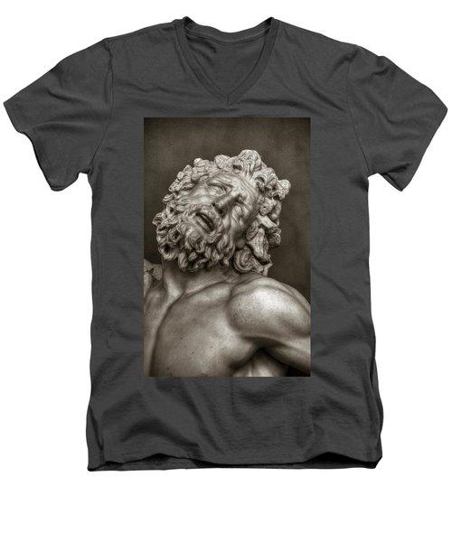 Laocoon Men's V-Neck T-Shirt