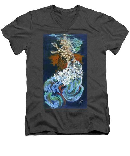 Dive Into Your Soul Men's V-Neck T-Shirt