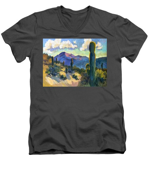 Late Afternoon Tucson Men's V-Neck T-Shirt