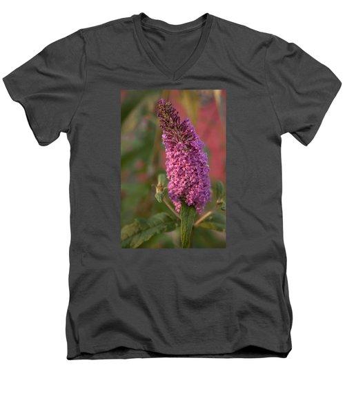 Late Summer Wildflowers Men's V-Neck T-Shirt