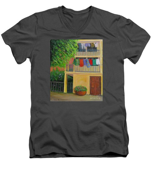 Laundry Day Men's V-Neck T-Shirt