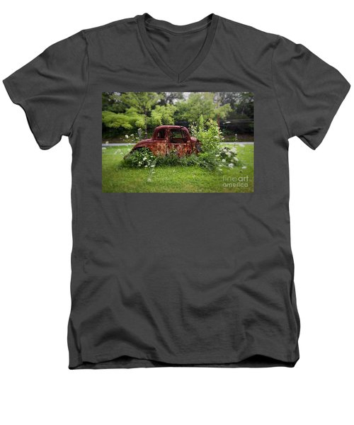 Lawn Ornament Men's V-Neck T-Shirt