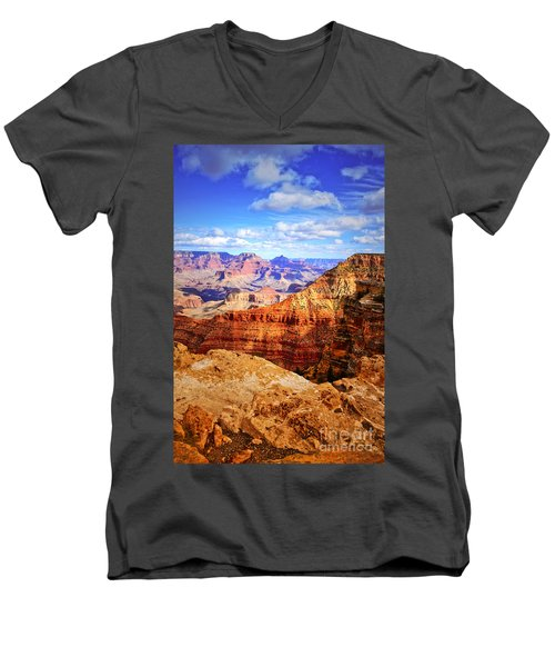 Layers Of The Canyon Men's V-Neck T-Shirt