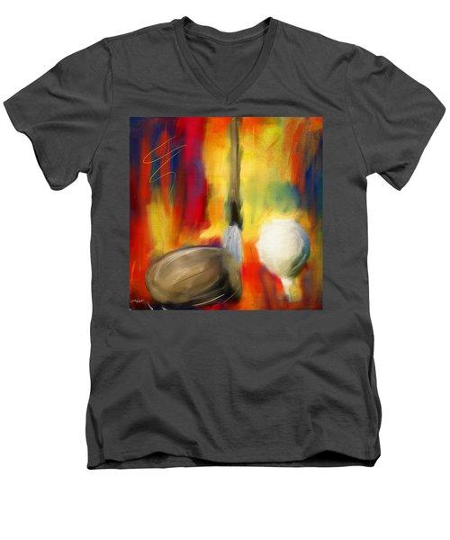 Leisure Play Men's V-Neck T-Shirt