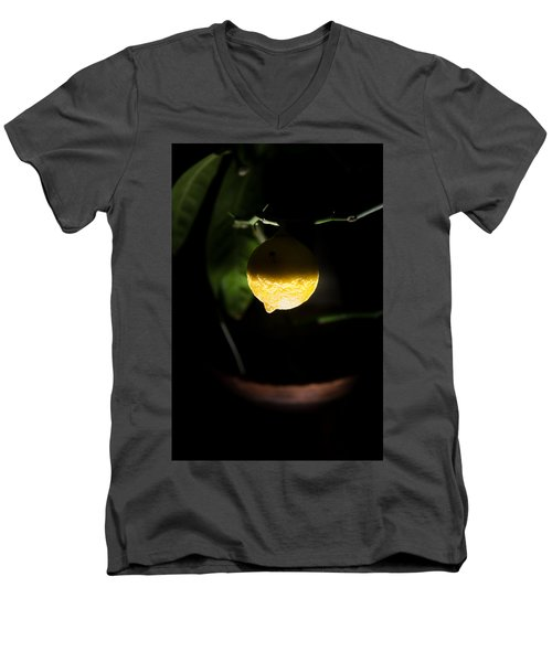 Lemon's Planet Men's V-Neck T-Shirt