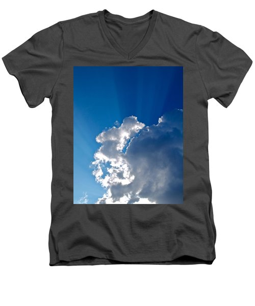 Let There Be Light Men's V-Neck T-Shirt