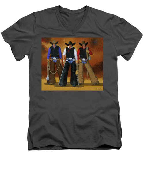 Let's Ride Men's V-Neck T-Shirt