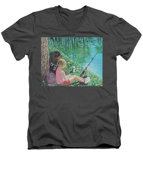 Liberty's Watchdog Men's V-Neck T-Shirt