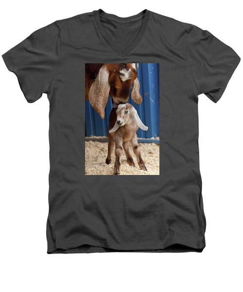 Licked Clean Men's V-Neck T-Shirt