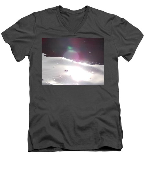 Men's V-Neck T-Shirt featuring the photograph Spaced Out by Deborah Moen