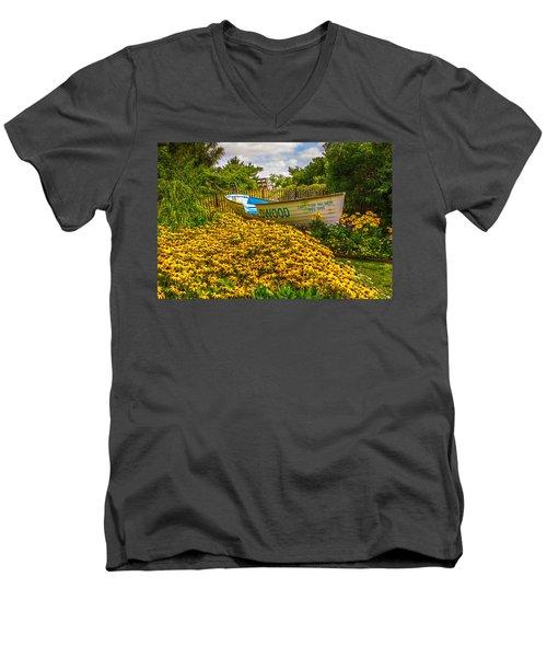Lifeboat Men's V-Neck T-Shirt