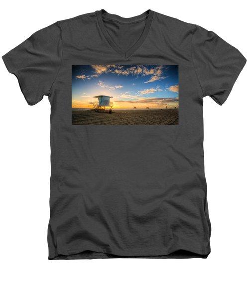 Lifeguard Off Duty Men's V-Neck T-Shirt