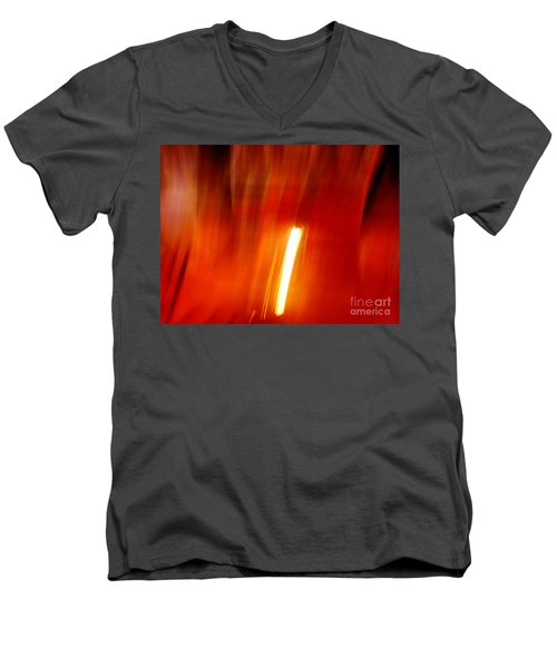 Light Intrusion Men's V-Neck T-Shirt