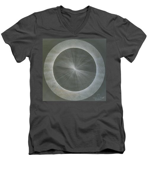 Light Is Pi  The Shape Of Pi Men's V-Neck T-Shirt