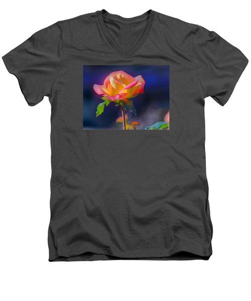Flower 10 Men's V-Neck T-Shirt