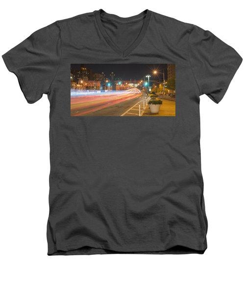 Light Traffic Men's V-Neck T-Shirt