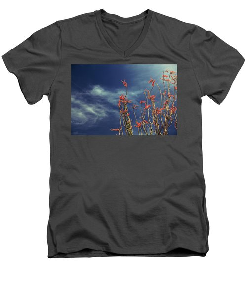 Like Flying Amongst The Clouds Men's V-Neck T-Shirt