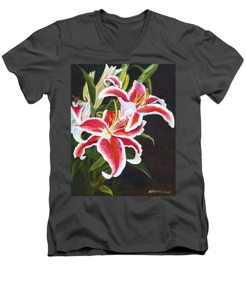 Lilli's Stargazers Men's V-Neck T-Shirt