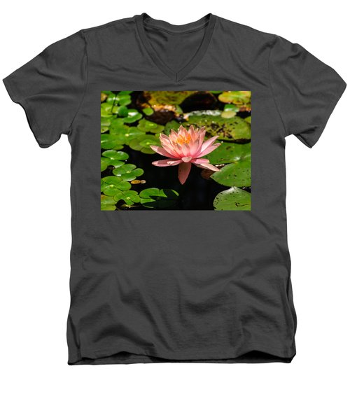 Lily Pad Men's V-Neck T-Shirt