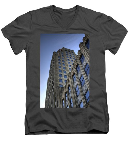 Lincoln Building Men's V-Neck T-Shirt