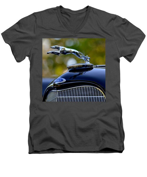 Lincoln Men's V-Neck T-Shirt