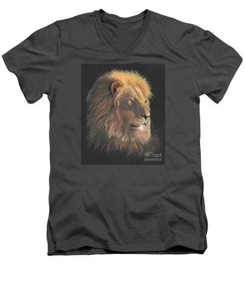 Lion Of Judah Men's V-Neck T-Shirt