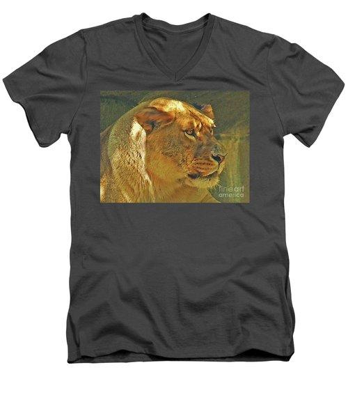 Lioness 2012 Men's V-Neck T-Shirt