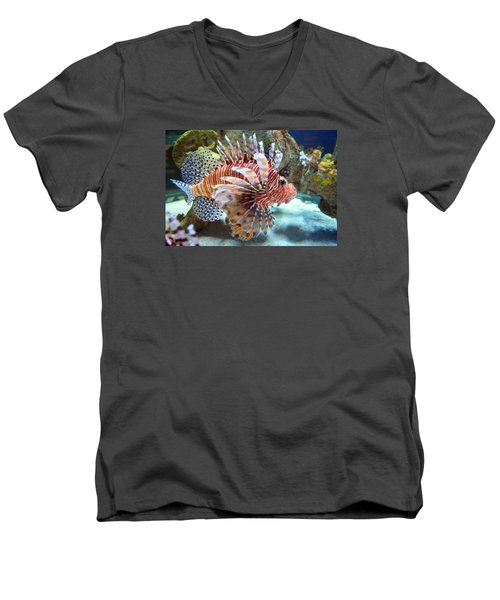 Lionfish Men's V-Neck T-Shirt