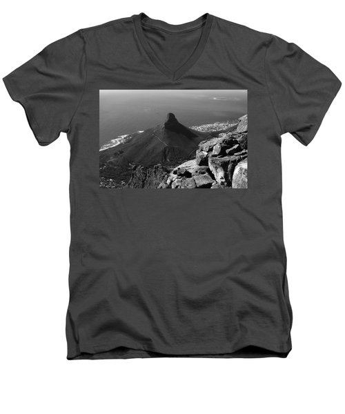 Lions Head - Cape Town - South Africa Men's V-Neck T-Shirt