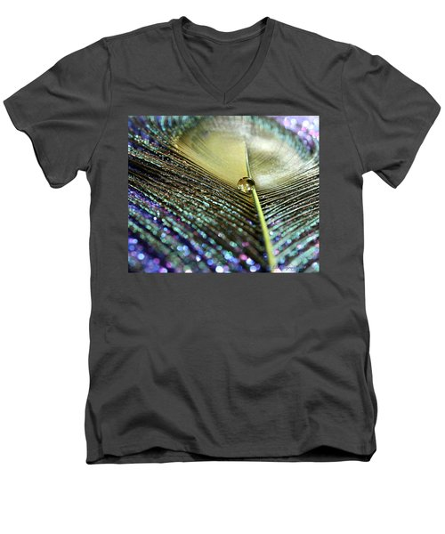 Liquid Reflection Men's V-Neck T-Shirt