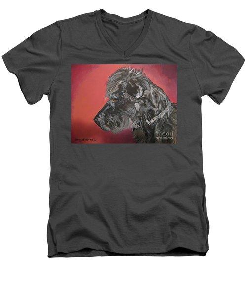 Little Bit Men's V-Neck T-Shirt