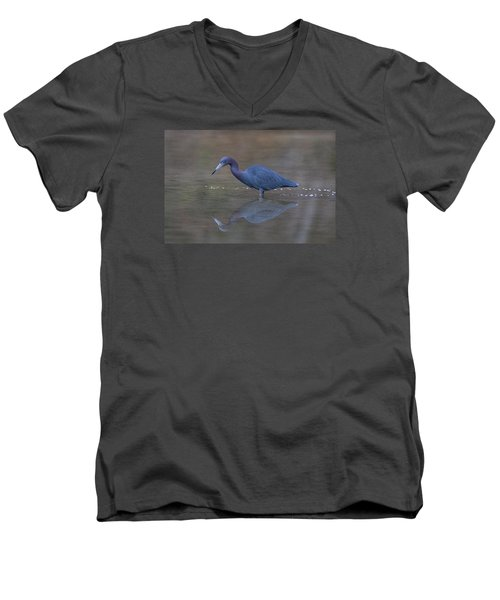 Little Blue Bubbles Men's V-Neck T-Shirt