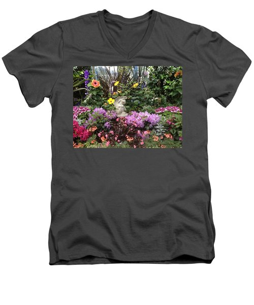 Little Cherub Men's V-Neck T-Shirt