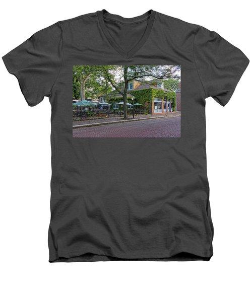 Little Hills Winery St Charles Mo Dsc00879  Men's V-Neck T-Shirt by Greg Kluempers
