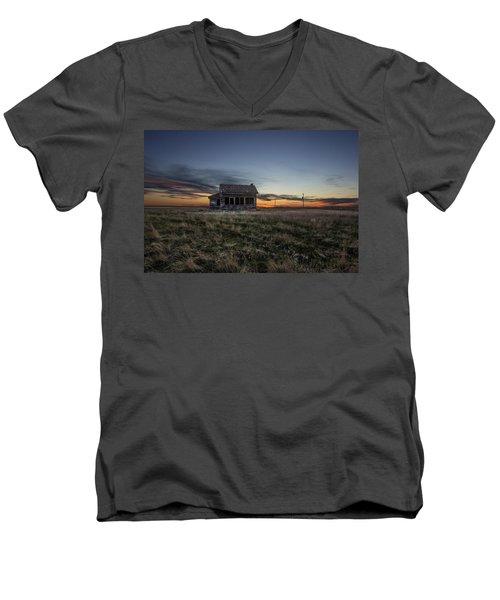Little House On The Prairie Men's V-Neck T-Shirt